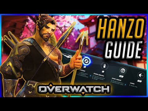 How To Play HANZO | Guide & Gameplay Tips [Overwatch]