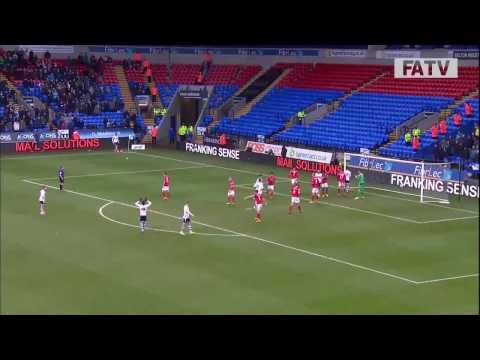Bolton Wanderers vs Cardiff City 0-1, FA Cup Fourth Round 2013-14 highlights