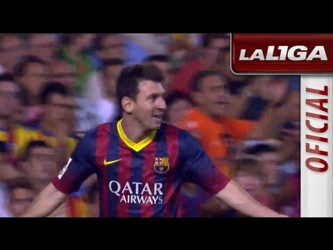 Resumen de Valencia CF (2-3) FC Barcelona - HD - Highlights