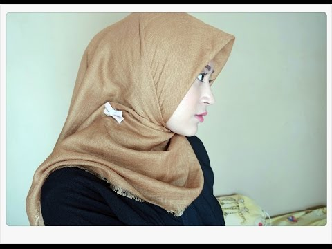 #62 Hijab Tutorial - Natasha Farani (2 Cara Memakai Jilbab Paris Segi Empat Simple)