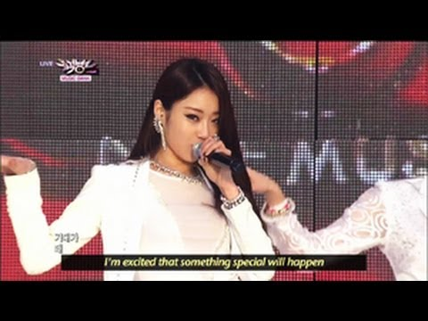 Nine Muses - Wild (2013.05.25) [Music Bank w/ Eng Lyrics]