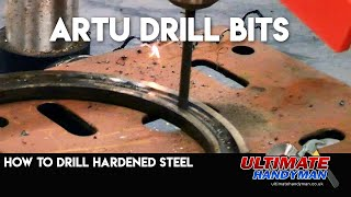 Drilling hardened steel with ARTU drill bits