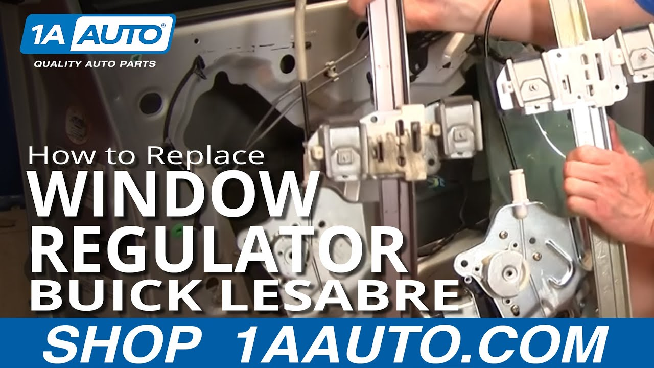 How To Install Repair Replace Broken Power Front Window