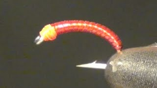 Blood Midge Fly Tying Instructions