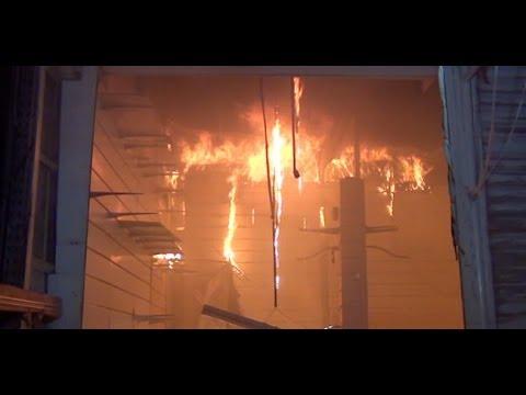 image vidéo حريق هائل في سوق ليبيا بأريانة