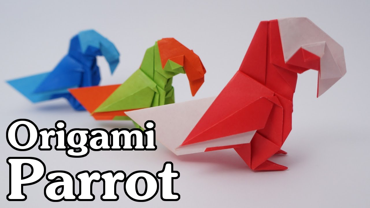 origami parrot barth dunkan youtube