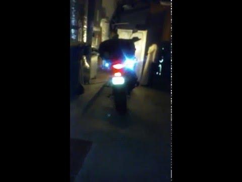 Suzuki V-Strom dl650a flashing LED's - Be Seen!