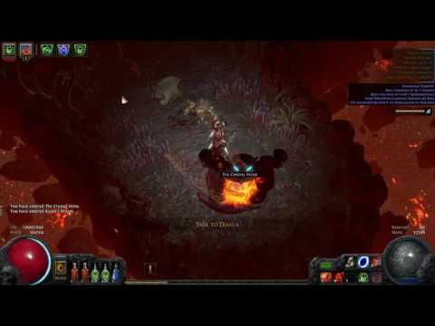 Path of Exile LHC Raging Spirit Necromancer Gameplay 4