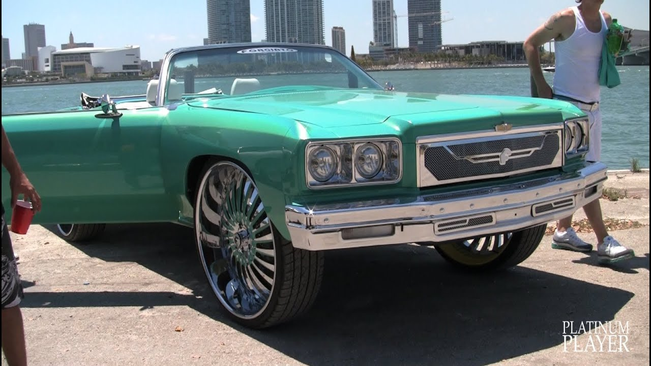 30 Inch Rims On Chevy : Chevy on inch rims at donk ryde or die youtube