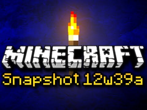 Minecraft Snapshot 12w39a &amp; 12w38b - LIGHTING OVERHAUL, WITCH UPDATE, &amp; MORE! (HD)