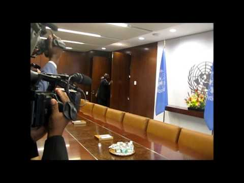 As Ban Ki-moon Meets SADC on DRC, Shouting at Photo-Op, Doors Closed, Access Fight