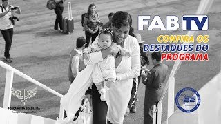 Esta edição do FAB TV traz, com exclusividade, uma matéria especial da formatura do Dia do Especialista, comemorado no dia 25 de março, na Escola de Especialista de Aeronáutica (EEAR).  Veja também como foi o transporte dos venezuelanos até cidades brasileiras em busca de uma nova oportunidade. E, também, saiba sobre a primeira reunião do Comitê de Governança de Atividades Espaciais (CGE).