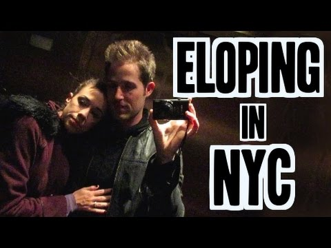 Eloping in NYC - (Day 57 of Fall-Log-Mas) FINAL DAY