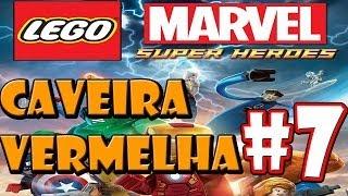 Lego Marvel Super Heroes-Parte 7-Detenção Ruiva