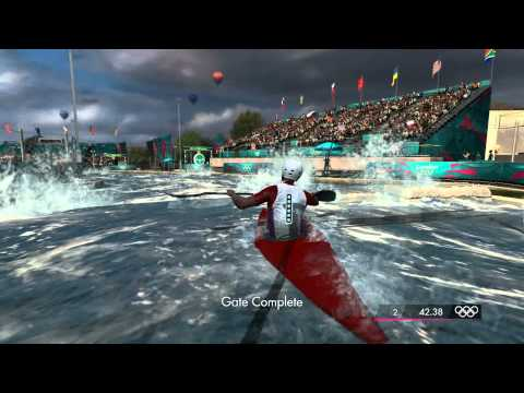 London 2012: The Official Video Game - Men's K1 Kayak Single