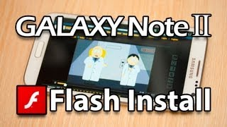 Flash Player for Samsung Galaxy Note 2 (Download apk direct from Adobe) view on youtube.com tube online.