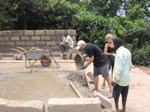 Building a School in Ghana