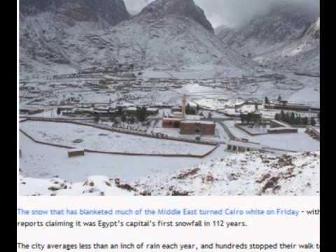 Snow In Egypt For The First Time In 100 Years