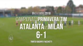 8ª giornata Primavera 1 TIM: Atalanta-Milan 6-1 - Highlights