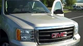 2007 GMC Sierra 1500 Extended Cab Short Bed SLE 4X4 Silver Art Gamblin Motors- Tim Smith V1984 videos