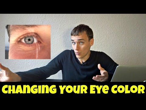 Changing Your Eye Color With Raw Foods
