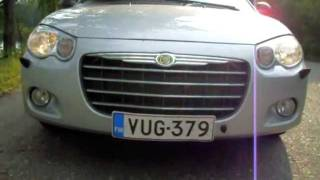My car Chrysler Sebring 2.7 limited 2005 videos