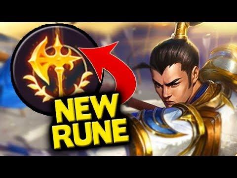 NEW RUNE! Is Conqueror OP For Junglers? Xin Zhao Gameplay