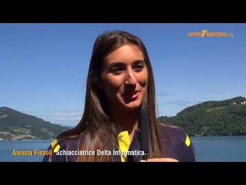 Copertina video Alessia Fiesoli, schiacciatrice della Delta Informatica