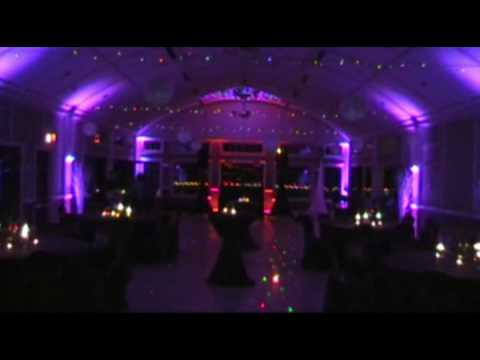 A Wedding With Custom Gobo & Uplighting