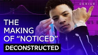 "The Making Of Lil Mosey's ""Noticed"" With Royce David 