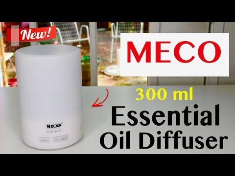 😍 MECO Essential Oil Diffuser 300ml - Review ✅