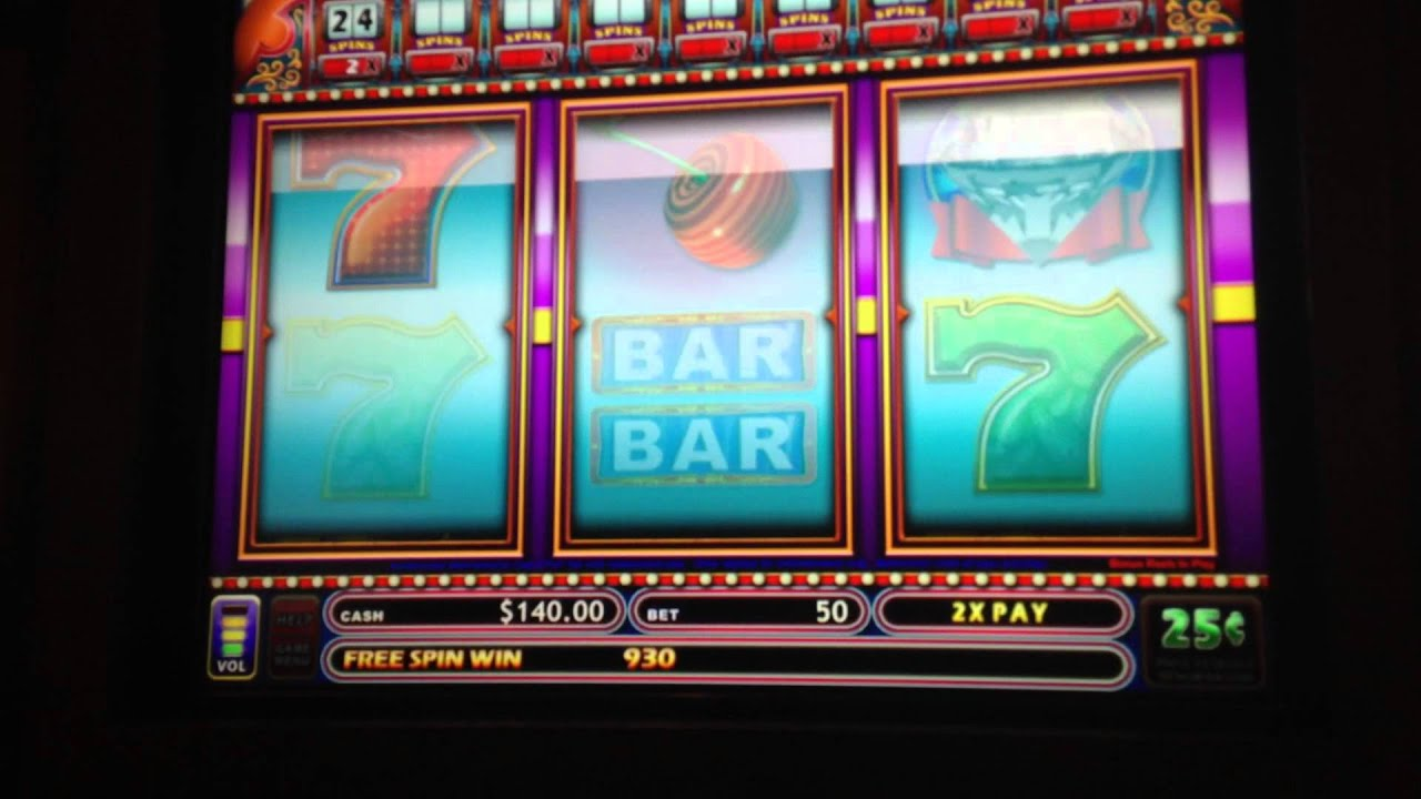 slot machine bonuses high limit max bet