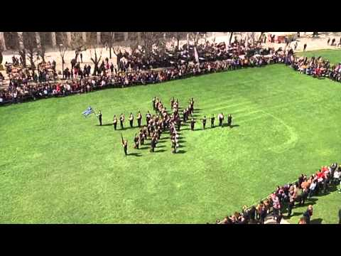 project corfu video Φιλαρμονική Εταιρεία Κέρκυρας Μπάντα σχηματισμών 25η Μαρτίου 2014