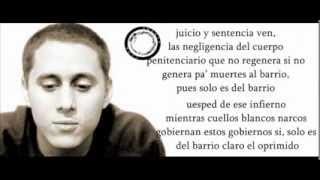 Cancion De La PricionCanserbero (Letra)