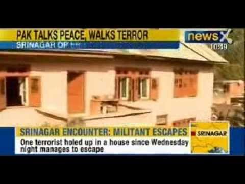 NewsX : Security forces call off operations in Srinagar's Soura area, terrorist manages to escape