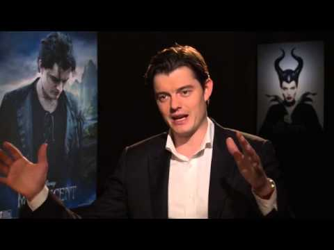 """Maleficent"" actor Sam Riley on what it's like to play sidekick to Angelina Jolie"