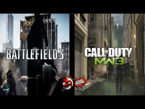 Modern Warfare 3 VS Battlefield 3 - Кто круче?