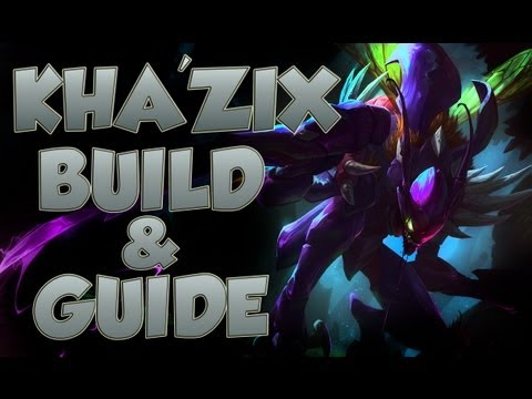 League of Legends - Kha'Zix Build - with Commentary - YouTube