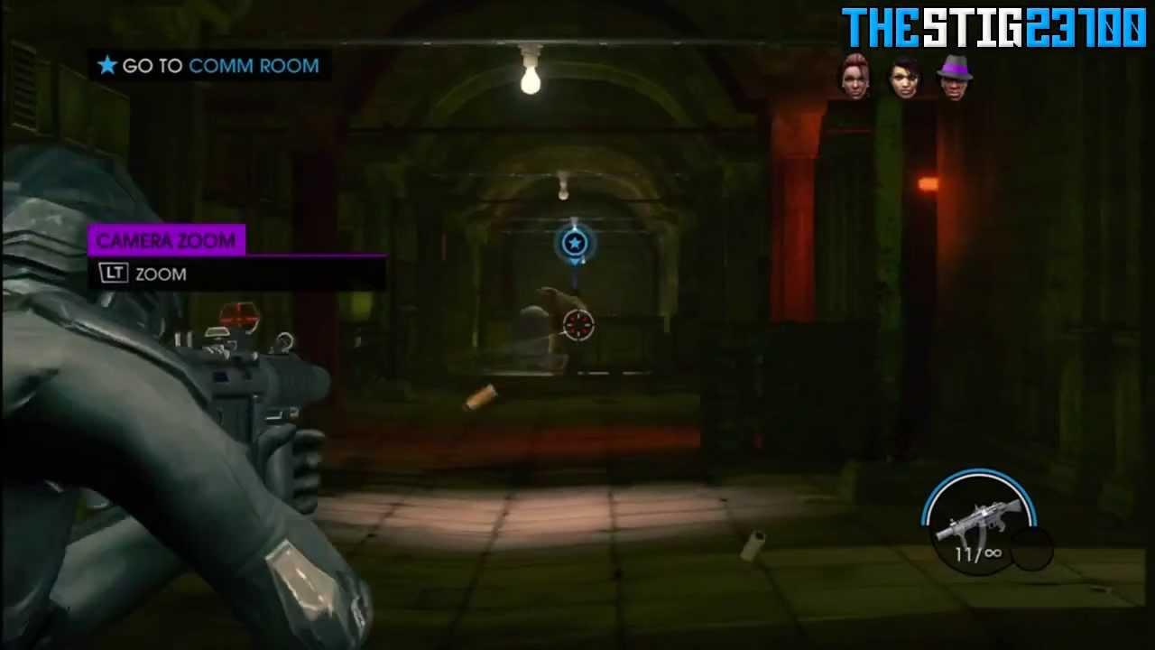 Saints Row 4 : First Mission Gameplay + Mini Game Review ...