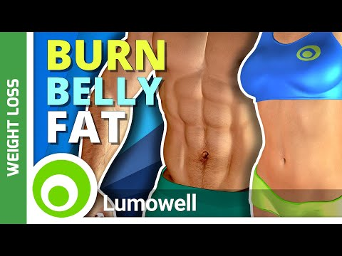 Belly fat Bodyweight Workout - Belly fat Burning Exercise