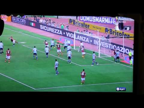 Roma-Lazio 2-0 SKY HD - GOL BALZARETTI - Highlights - All Goals - © Serie A 2013-2014