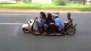 Super Low Rider Scooter Just Reeks Of Danger