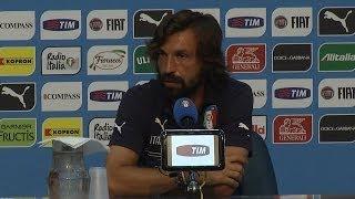 """Pirlo: """"Lascio la Nazionale dopo il Mondiale"""" - Mondiali 2014"""