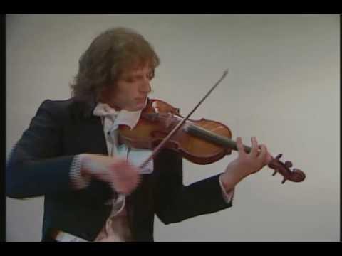 Paganini - Caprice no.16, Alexander Markov, violin [HD]