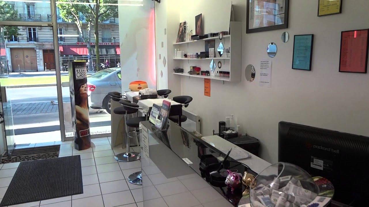 Visuel salon de beaute paris 14