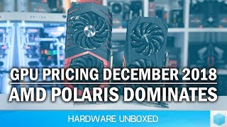 GPU Pricing Update, AMD Destroys Nvidia in the Mid-Range, Pascal Is Disappearing