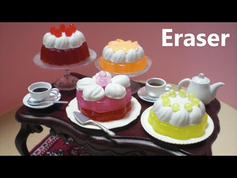 debika #2 - Cake Shaped Erasers Making Kit