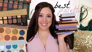 BEST EYESHADOW PALETTES OF 2018! TOP 10 RELEASES