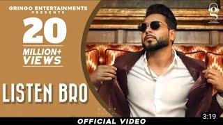 Listen Bro Khan Bhaini Video HD Download New Video HD