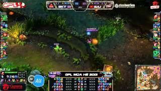 [GPL 2013 Mùa Hè] [Tuần 13] Saigon Jokers vs Bangkok Titans [11.08.2013]